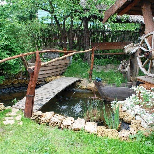 Как сделать сад в стиле кантри